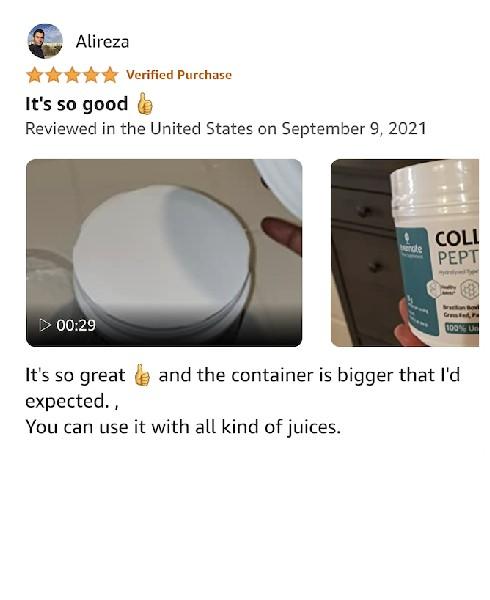 evernate collagen powder amazon review 12